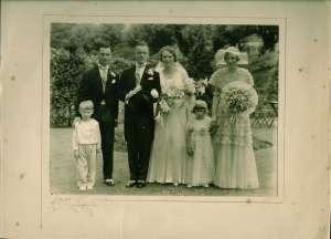 HenryMarshPhyllisHainesWedding1933